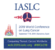 IASLC 2019 World Conference on Lung Cancer