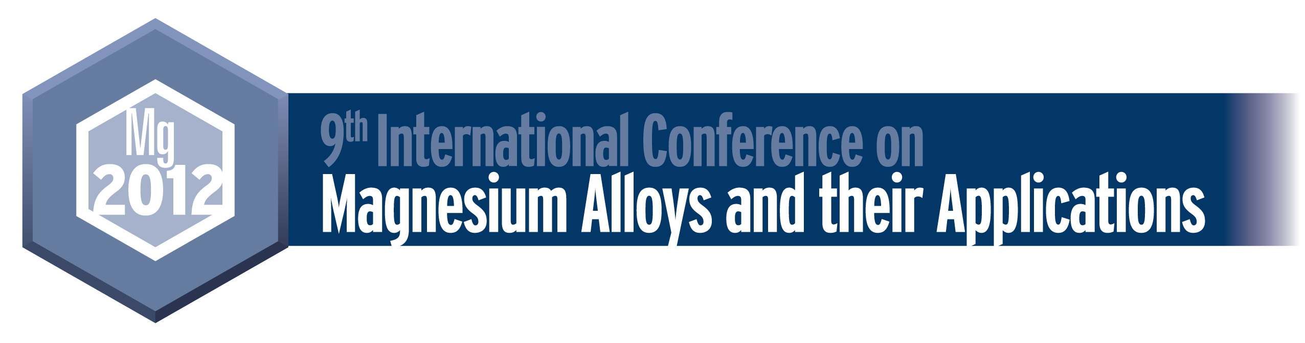 9th International Conference on Magnesium Alloys and Their Applications