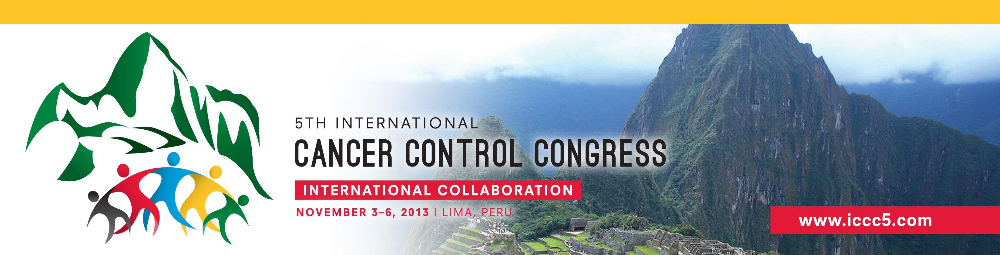 5th International Cancer Control Congress