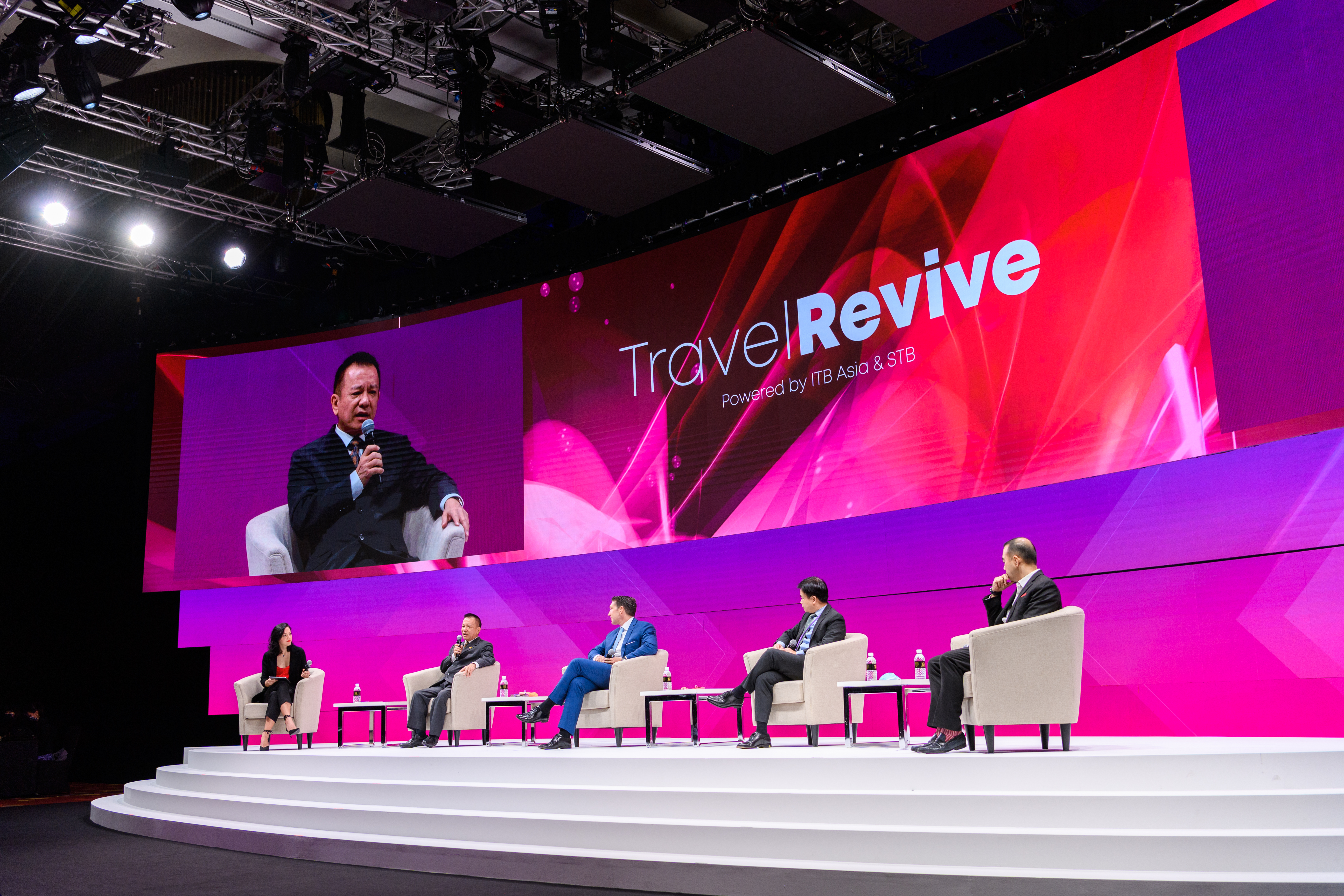 ITB Asia, Travel Revive, International Conference Services, ICS, Mathias Posch, Brains for Gains, Singapore Conference Management, Hybrid Events